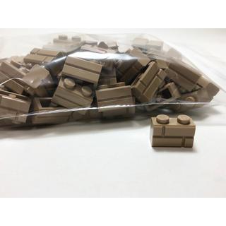 Lego - 【新品未使用】レゴ LEGO レンガ 1×2 ダークタン 100個