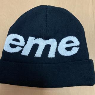 シュプリーム(Supreme)のsupreme big logo beanie(ニット帽/ビーニー)