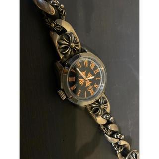 Chrome Hearts - クロムハーツ風シルバーブレス時計