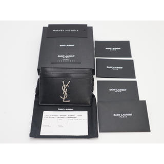 サンローラン(Saint Laurent)の《SAINT LAURENT/カード ケース》Sランク 485631 未使用品(名刺入れ/定期入れ)