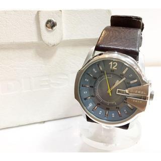 ディーゼル(DIESEL)のディーゼル DZ-1399 レザー クォーツ時計 メンズ 稼働中(レザーベルト)