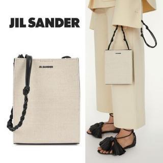 ジルサンダー(Jil Sander)の2020JIL SANDER TANGLEスモール ショルダバックキャンバス ■(ショルダーバッグ)