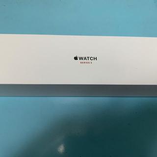 Apple Watch - アップルウォッチ3 42m アルミニウム