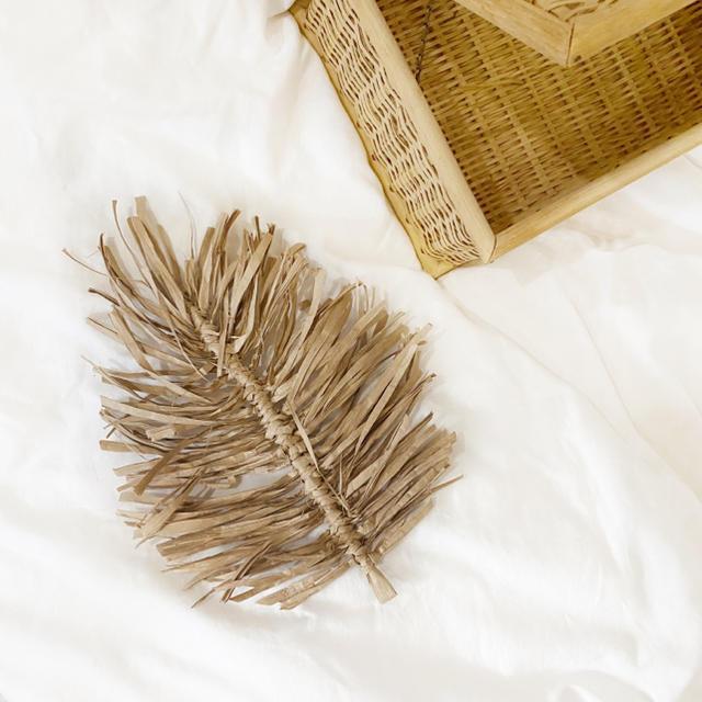 リーフタペストリー 🍃 L size ハンドメイドのインテリア/家具(インテリア雑貨)の商品写真