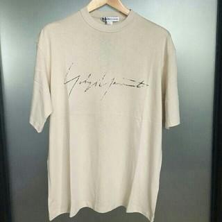 Y-3 - 20ss y-3 adidas Yohji Yamamoto Tシャツ ベージュ