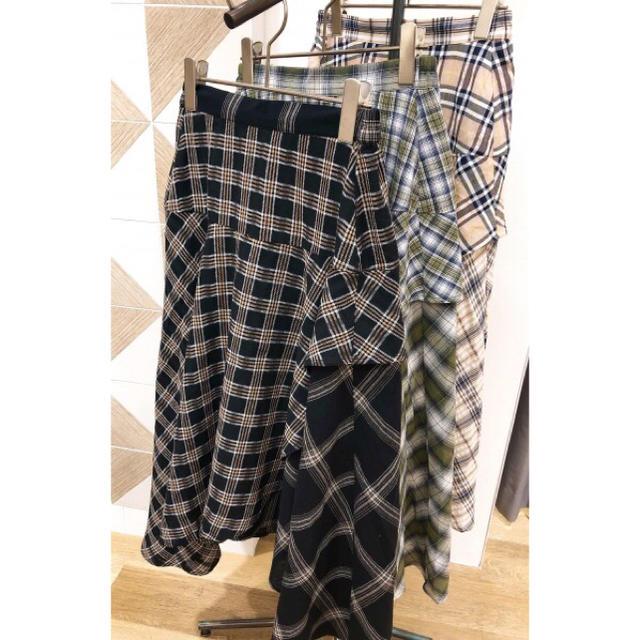 AS KNOW AS PINKY(アズノゥアズピンキー)のスカート レディースのスカート(ひざ丈スカート)の商品写真
