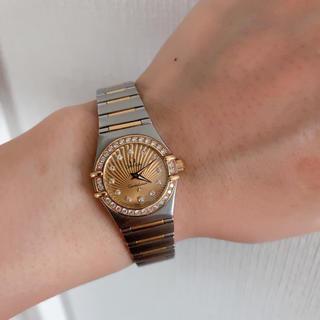 オメガ(OMEGA)の【オメガ】コンステレーション オメガ160Years レディース(腕時計)