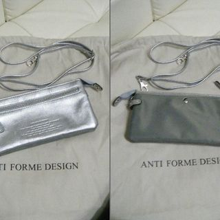 Anti-Forme Design ロングウォレットバッグ 本革 未使用