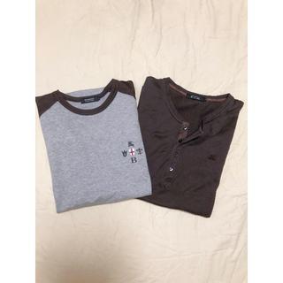 BURBERRY BLACK LABEL - 正規品 バーバリーブラックレーベル Tシャツ2枚セット