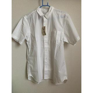 ムジルシリョウヒン(MUJI (無印良品))の新品 無印良品 半袖シャツ 洗いざらしブロード Lサイズ(シャツ)
