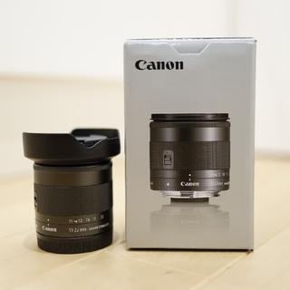 キヤノン(Canon)の極美品 キヤノン EF-M11-22mm F4-5.6 IS STM(レンズ(ズーム))