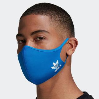 アディダス(adidas)のアディダス マスク ブルー 大人用 M/L 1枚(その他)