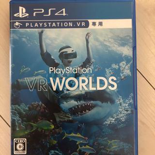 プレイステーションヴィーアール(PlayStation VR)の値下げしました!PS4ソフトのVRWORLD &イヤホン付き(家庭用ゲームソフト)