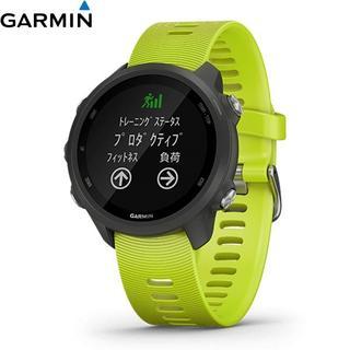 ガーミン(GARMIN)の新品 ガーミン ForeAthlete245 Yellow GPS(腕時計(デジタル))