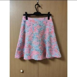 デミルクスビームス(Demi-Luxe BEAMS)のDemi-Luxe BEAMSのフレアスカート(ひざ丈スカート)