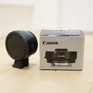 キヤノン(Canon)の極美品 キヤノン マウントアダプター EF-EOS M(その他)