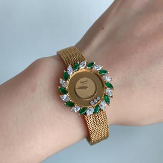 ショパール(Chopard)の【ショパール】金無垢 レディース(腕時計)