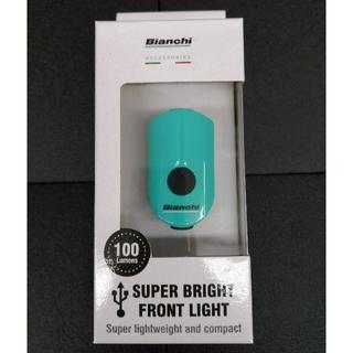 ビアンキ(Bianchi)のBianchi ビアンキ LED フロントライト 新品(パーツ)