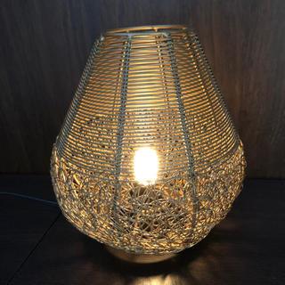 マライカ(MALAIKA)のマライカ 置き型ランプ ワイヤー編み(テーブルスタンド)