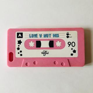 ハニーミーハニー(Honey mi Honey)のValfre iPhone6+ケース カセットテープ ピンク ラメ シリコン(iPhoneケース)