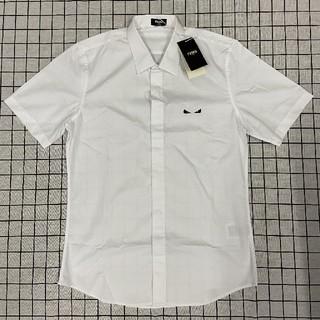 フェンディ(FENDI)のFENDIフェンディ シャツ ワイシャツ 半袖 XL(Tシャツ/カットソー(半袖/袖なし))