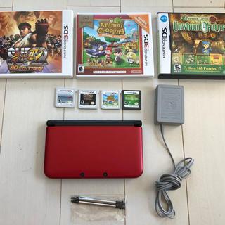 ニンテンドー3DS - 北米版 3DS XL + どうぶつの森 マリオカート7 スト4 レイトン教授