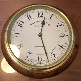 アクタス(ACTUS)のJohn Moore & Sons of Clerkenwell 壁掛け時計(掛時計/柱時計)