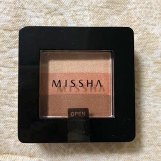 ミシャ(MISSHA)の新品  MISSHA グラデーションアイシャドウ(アイシャドウ)