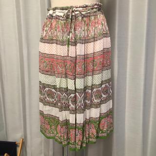 マライカ(MALAIKA)のインド綿 膝丈スカート(ひざ丈スカート)