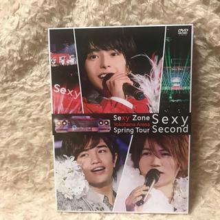 セクシー ゾーン(Sexy Zone)のSexy Zone Spring Tour Sexy Second DVD(ミュージック)