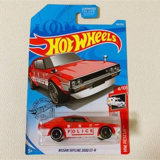 ニッサン(日産)のHot wheels ホットウィール  日産 スカイライン 警察車 ミニカー(ミニカー)