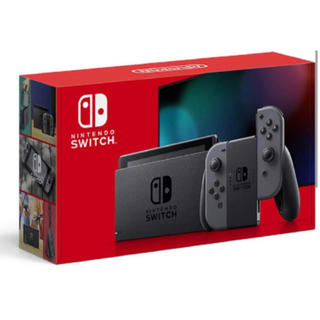 Nintendo Switch - 新品☆Nintendo Switch ニンテンドースイッチ 本体 グレー