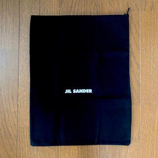 ジルサンダー(Jil Sander)のジルサンダー JIL SANDER 保存袋 黒★巾着ショップバッグ(ショップ袋)