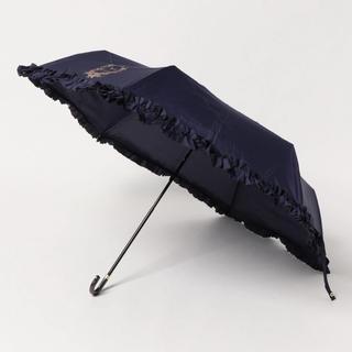 Maison de FLEUR - Maison de FLEUR ヒートカットフリル折りたたみ傘