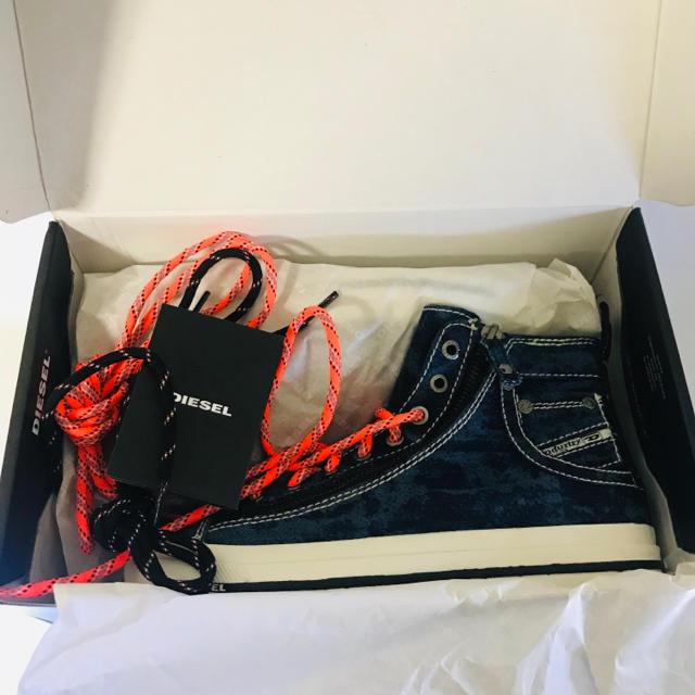 DIESEL(ディーゼル)のDIESEL ディーゼル スニーカー EU38 JP24-24.5cm レディースの靴/シューズ(スニーカー)の商品写真