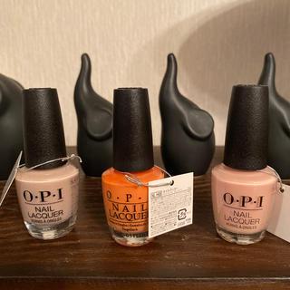 オーピーアイ(OPI)の新品 opl  ネイル 単品 セット どちらでもOK(マニキュア)