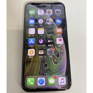 アップル(Apple)の新品未使用 SIMフリー iPhoneXS 64G スペースグレー(スマートフォン本体)