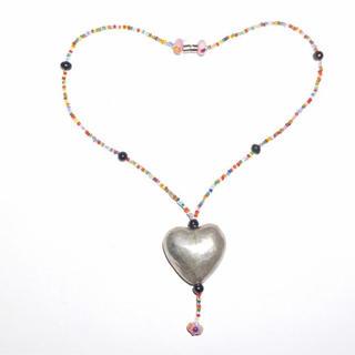 jouetie - Heart beads necklace