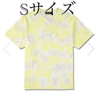 シー(SEA)のWDS TIE-DYE T-SHIRT / LIME-YELLOW (Tシャツ/カットソー(半袖/袖なし))