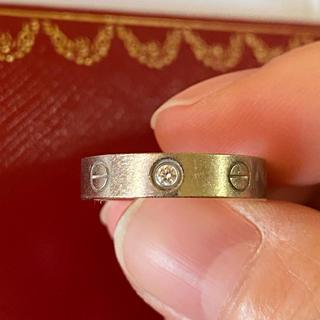 カルティエ(Cartier)のカルティエ ミニラブリング 1Ꮲダイヤ 9号(リング(指輪))