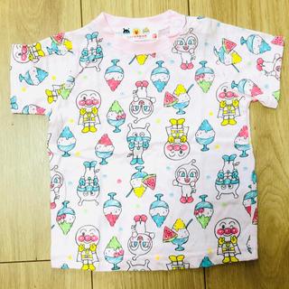 アンパンマン(アンパンマン)のアンパンマン 蓄光 Tシャツ 80 (Tシャツ)