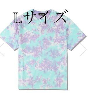 シー(SEA)のWDS TIE-DYE T-SHIRT / MINT-BLUE (CS-211)(Tシャツ/カットソー(半袖/袖なし))