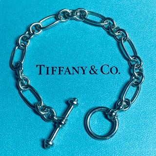 ティファニー(Tiffany & Co.)のOLD TIFFANY オールド ティファニー チェーン トグル ブレスレット(ブレスレット)