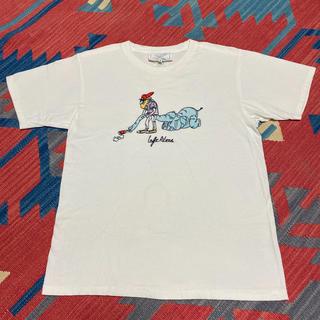 ビームス(BEAMS)のレア柄!レフトアローン LEFTALONE Tシャツ 印(Tシャツ/カットソー(半袖/袖なし))
