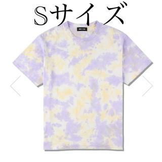 シー(SEA)のWDS TIE-DYE T-SHIRT / ORCHID-YELLOW (Tシャツ/カットソー(半袖/袖なし))