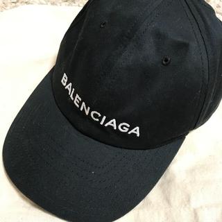バレンシアガ(Balenciaga)のバレンシアガ キャップ黒(キャップ)