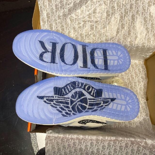 Dior(ディオール)のDIOR AIR JORDAN 1 HIGH AIR DIOR メンズの靴/シューズ(スニーカー)の商品写真