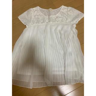 プーラフリーム(pour la frime)のホワイト トップス(カットソー(半袖/袖なし))