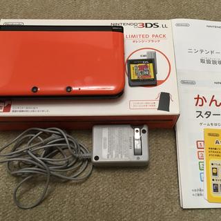 ニンテンドー3DS - ニンテンドー3DS LL オレンジ×ブラック