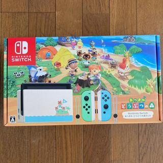 Nintendo Switch - ニンテンドースイッチswitch どうぶつの森同梱版セット